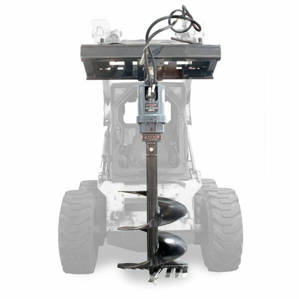 Auger Drive On Skid Steer 600x600 - Auger Drives