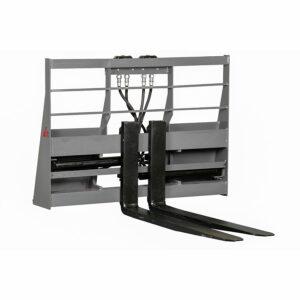 HydroMax Pallet Forks 300x300 - Skid Steer Fork Positioning Pallet Forks