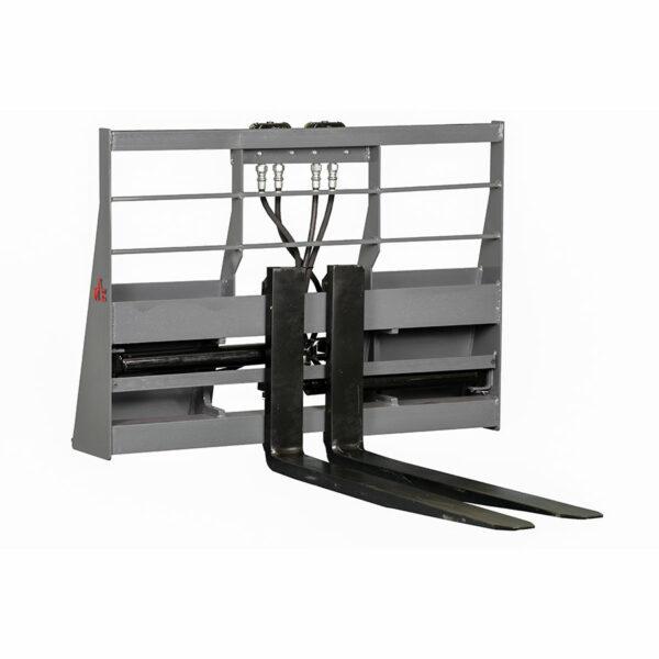 HydroMax Pallet Forks 600x600 - Skid Steer Fork Positioning Pallet Forks