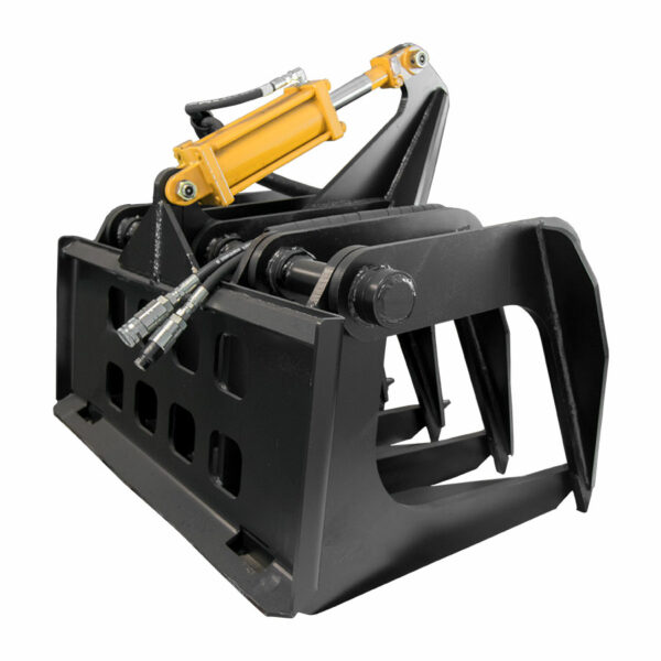 10 tine grapple back 600x600 - Super Duty Grapple Rake