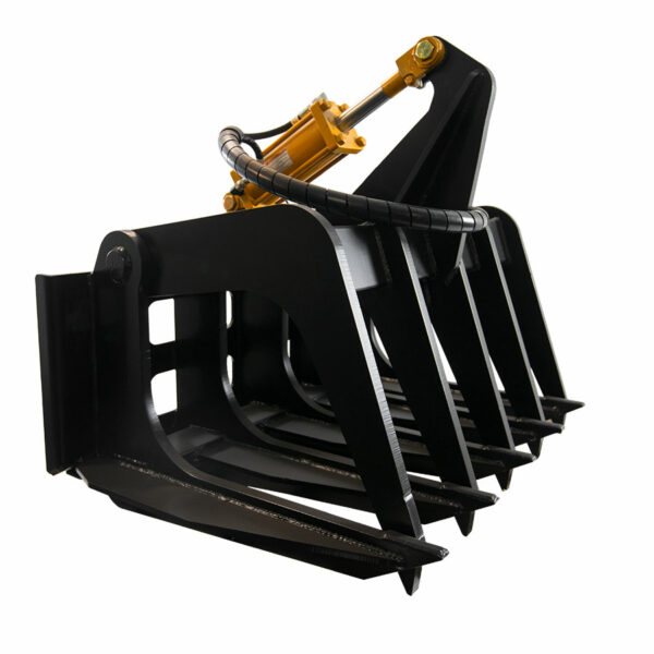 10 tine grapple front 600x600 - Super Duty Grapple Rake