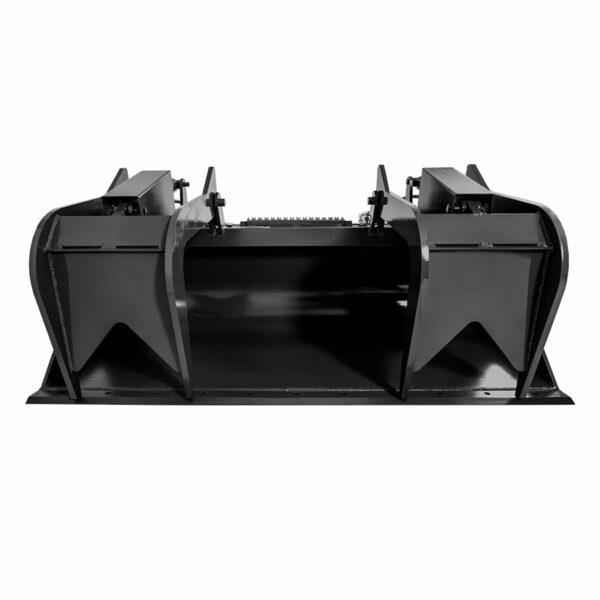 skid steer grapple bucket front 600x600 - Skid Steer Grapple Bucket